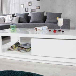 Konferenčný stolík Fortuna biela