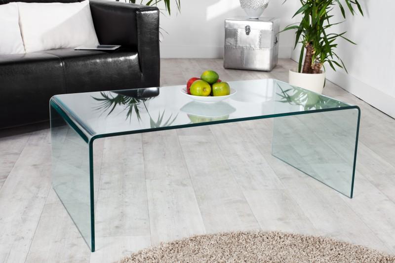 Konferenčný stolík Ghost - sklo 110cm