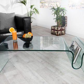 Konferenčný stolík Ghost - sklo 125cm