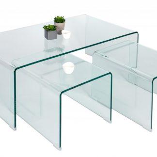 Konferenčný stolík Ghost set 3ks