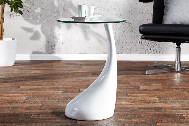 Konferenčný stolík Lounge Tear biela