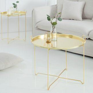 Konferenčný stolík Marrakesch zlatá