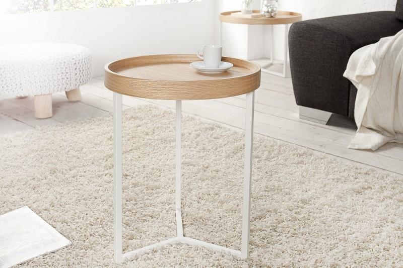 Konferenčný stolík Modul 40cm dub biela