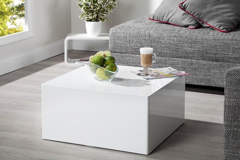 Konferenčný stolík Monobloc M 50cm biela