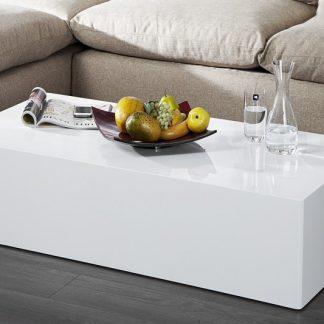 Konferenčný stolík Monobloc XL 100cm biela