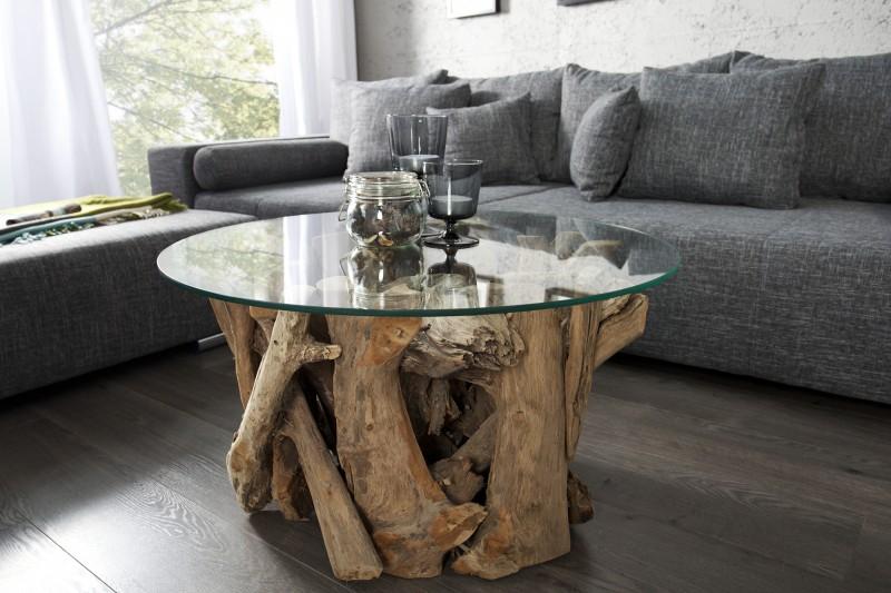Konferenčný stolík Nature Lounge m. sklo