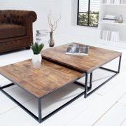 Konferenčný stolík New Fusion set 2ks Vintage