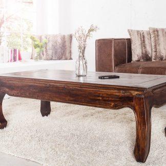 Konferenčný stolík Opium 120cm mahagón Shabby Look