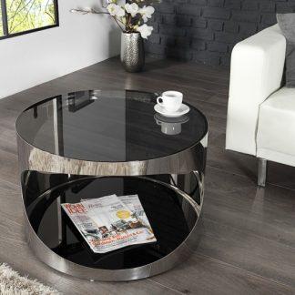 Konferenčný stolík Prometheus 60cm čierna