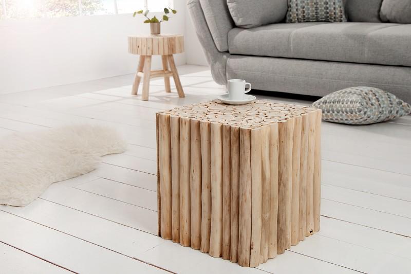 Konferenčný stolík Pure Nature 35cm teakové drevo