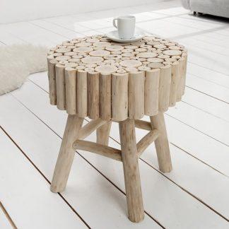 Konferenčný stolík Pure Nature 40cm teakové drevo