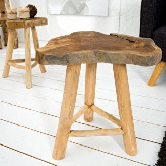 Konferenčný stolík Root 45cm teakové drevo