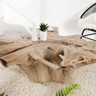 Konferenčný stolík Root teakové drevo Wurzel