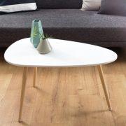 Konferenčný stolík Scandinavia 75cm biela Pinie