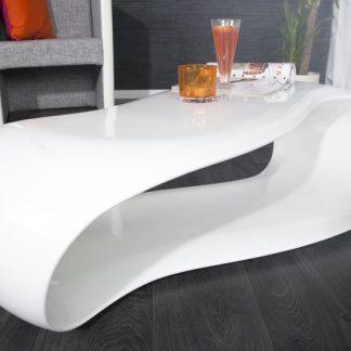 Konferenčný stolík Stream biela 110cm