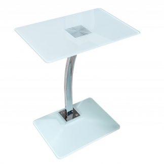 Konferenčný stolík Tablet Laptop Butler biela