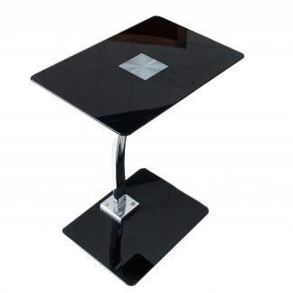 Konferenčný stolík Tablet Laptop Butler čierna
