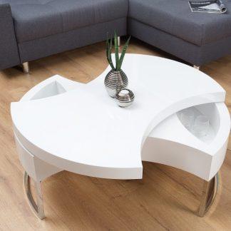 Konferenčný stolík Turn Around biela
