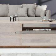 Konferenčný stolík Wotan 115cm dub vápnené