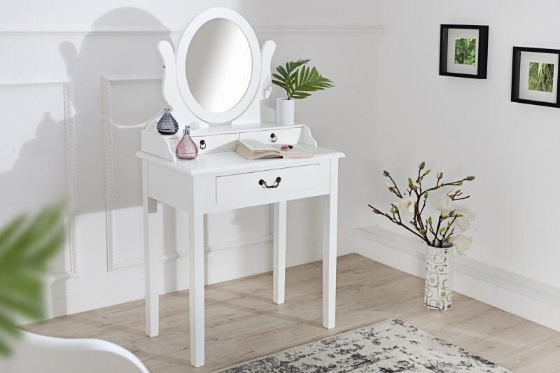Kozmetický stolík Venezia 135cm biela