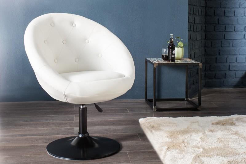 Kreslo Couture 85-100cm biela Fuß