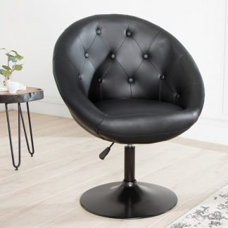 Kreslo Couture 85-100cm čierna Fuß