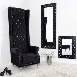 Kreslo Royal Chair Deluxe čierna