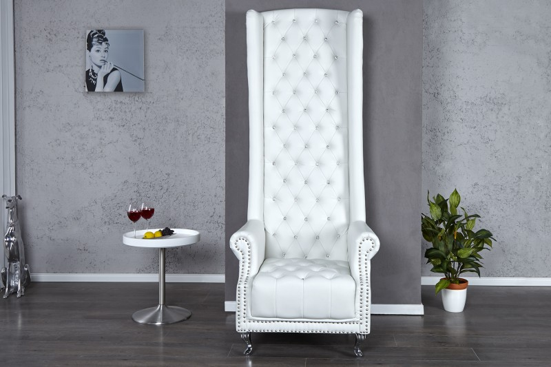 Kreslo Royal Chair biela