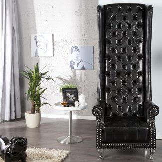 Kreslo Royal Chair čierna