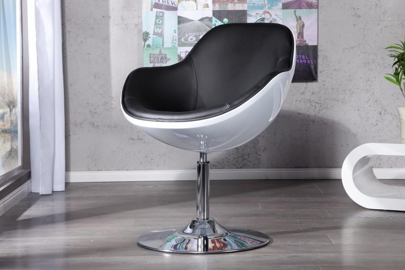 Kreslo Speedchair biela čierna