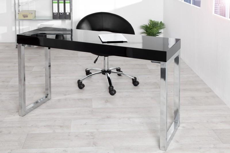 Laptoptisch Desk 120x40cm čierna