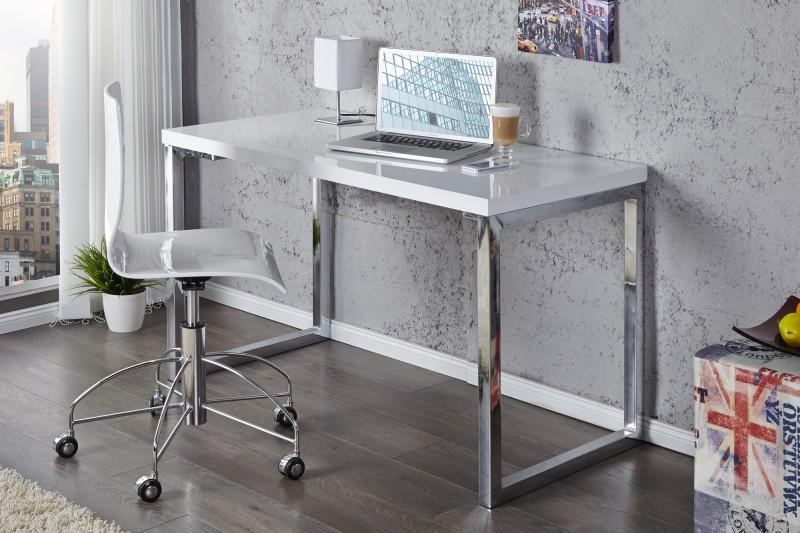 Laptoptisch White Desk 120x60cm biela