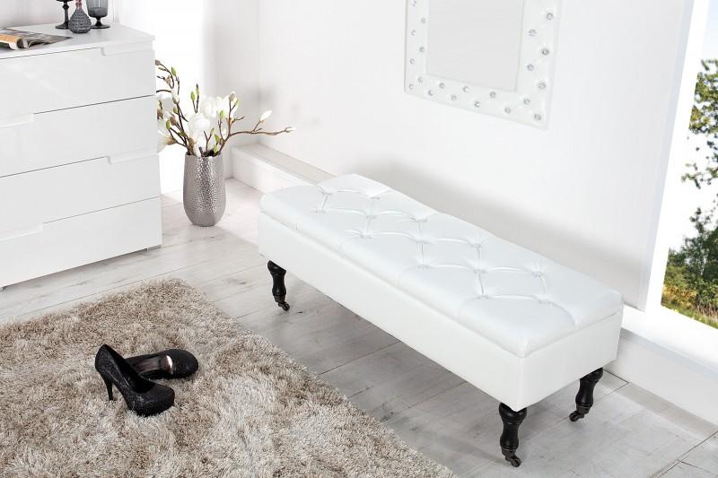 Lavica Boutique 110cm biela