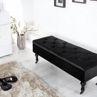Lavica Boutique 110cm čierna