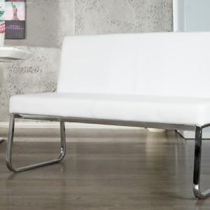 Lavica Hampton 120cm biela