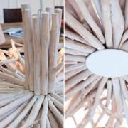 Luster Euphoria 105cm naplavené drevo