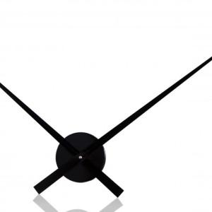 Nástenné hodiny Little Big Time  80cm čierna