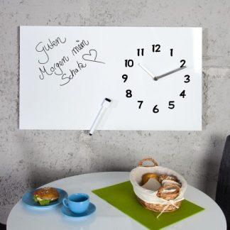 Nástenné hodiny Timeplace / Marker 60cm biela