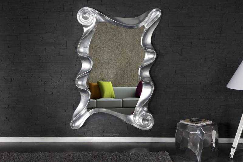 Nástenné zrkadlo Alice strieborná 160cm