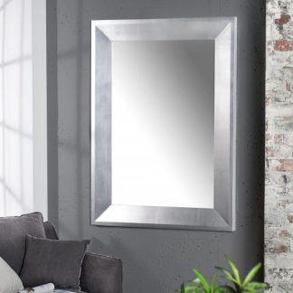 Nástenné zrkadlo Barca 110cm strieborná