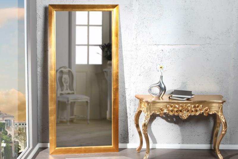 Nástenné zrkadlo Espejo 180cm zlatá