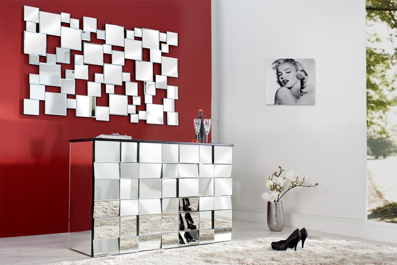 Nástenné zrkadlo Multiplo 140cm