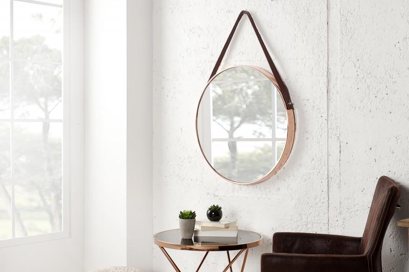 Nástenné zrkadlo Portrait 45cm meď