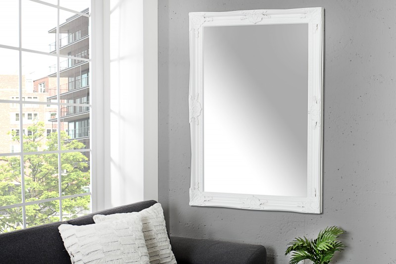 Nástenné zrkadlo Renaissance 105cm biela
