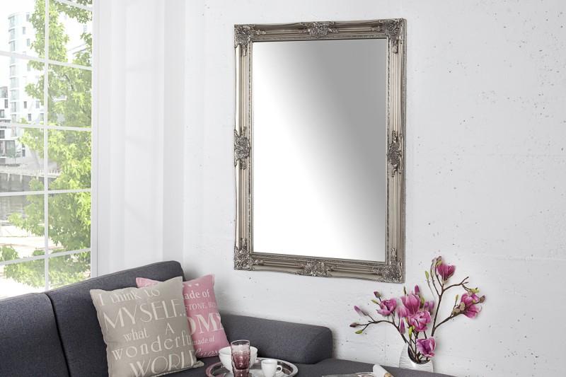 Nástenné zrkadlo Renaissance 105cm strieborná