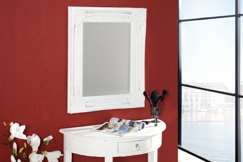 Nástenné zrkadlo Speculum 55cm biela