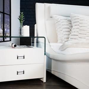 Nočný stolík Manhattan 50cm biela