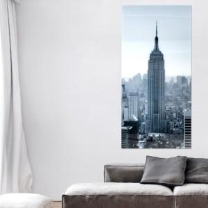 Obraz EmpireStateBuilding 160x70cm sklo
