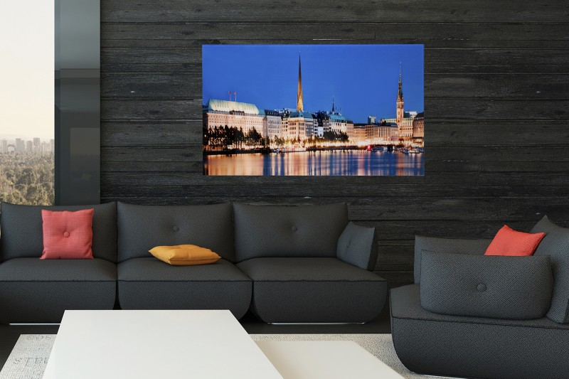 Obraz Hamburg Binnenalster 50x70cm