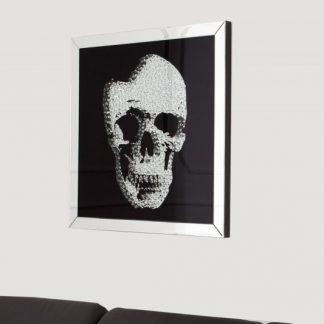 Obraz Mirror Skull 60x60cm